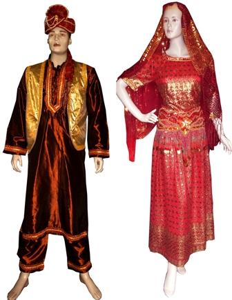 Garduseni Sewa Kostum Memiliki Koleksi Pakaian Bertemakan India Yang ...