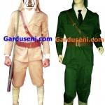 Kostum tentara peta pembela tanah air era jepang