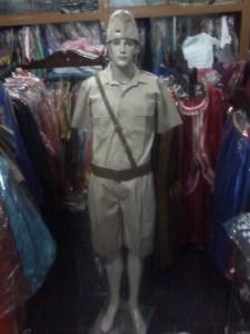 sewa kostum tentara rakyat