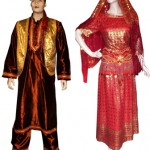 Baju india kostum 1001 malam