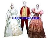 kostum princess disney - putri kerajaan