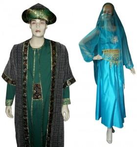 kostum arab negara di timur tenga