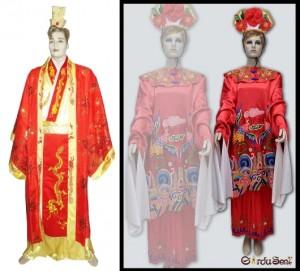 Kostum Cina Baju Negara
