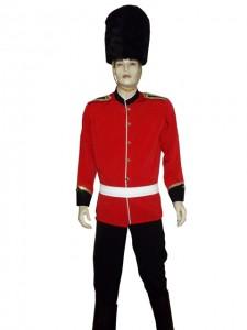 kostum tentara inggris