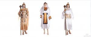 kostum mesir dan Yunani